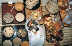 Feasts offered at rituals