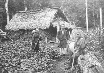 Settlers in the Meiji era