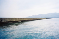 North breakwater of Otaru Port
