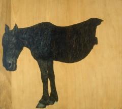 Horse (last work) by Nissho Kanda