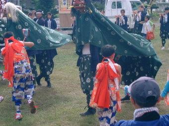 Tadoshi lion dance