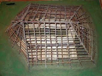Dwelling model of the Okhotsk culture